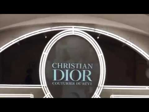 Christian Dior Ausstellung Couturier du reve in Paris 2017/2018
