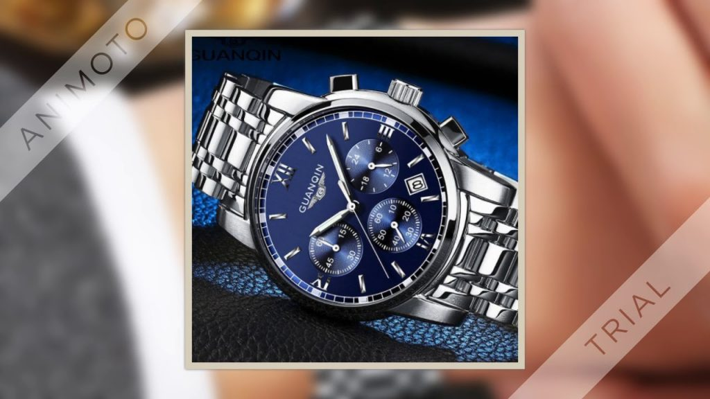 relogio masculino GUANQIN Mens Watches Top Brand Luxury Fashion Business Quartz Watch Men Sport Full