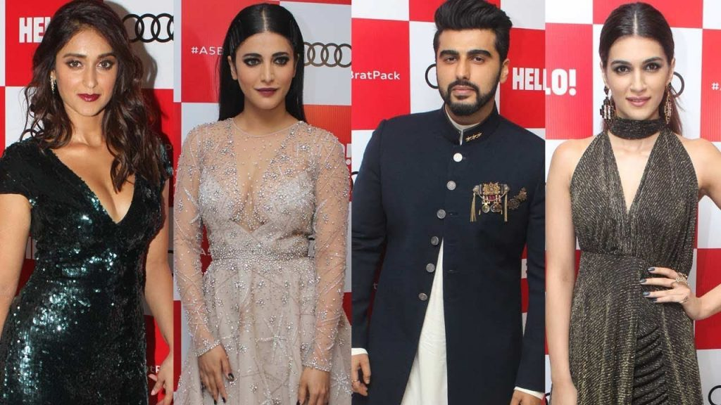 Arjun Kapoor, Ileana D'Cruz, Kriti Sanon, Shruti Haasan at Audi A5 Range Launch Party