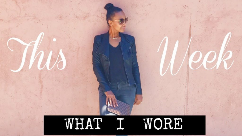 OUTFITS FOR THE WEEK | AT KATIAS