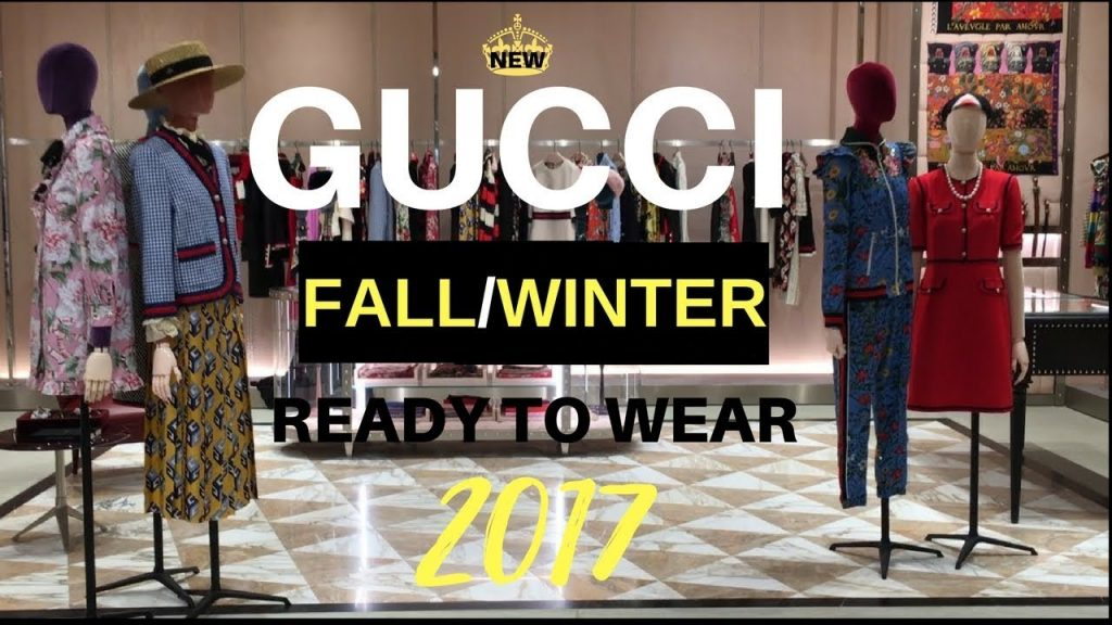 New Gucci Fall/ Winter 2017 Ready to Wear Collection Come Along & Preview Luxury