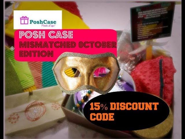 *NEW* POSH CASE October | Mis Matched Edition | Luxury Fashion | Lifestyle | Beauty Products