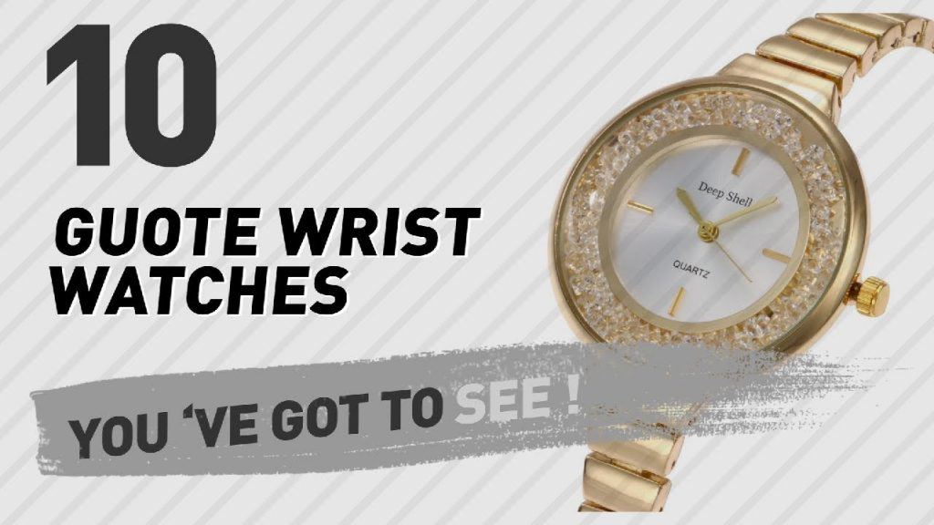 Guote Wrist Watches For Men // New & Popular 2017