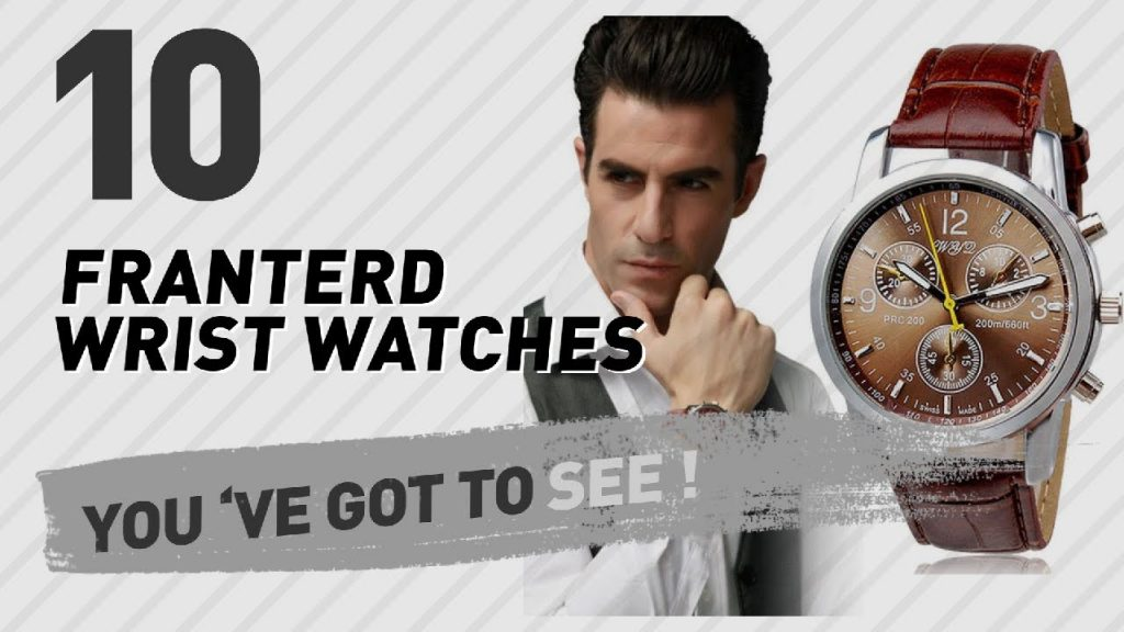 Franterd Wrist Watches For Men // New & Popular 2017