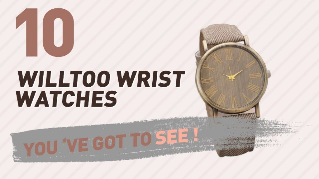Willtoo Wrist Watches For Men // New & Popular 2017