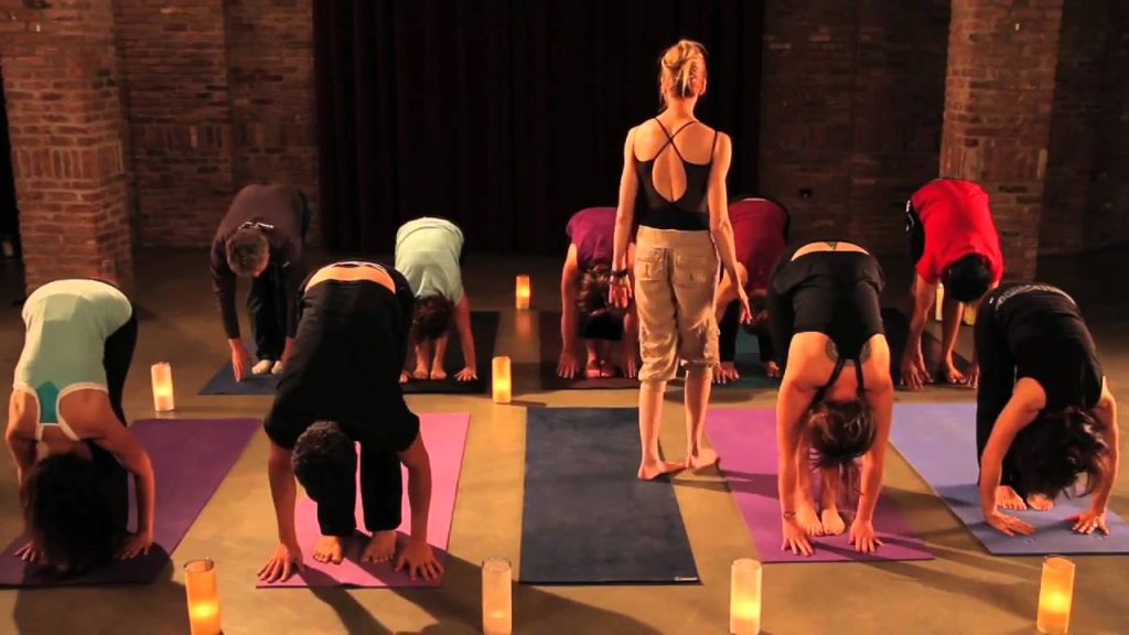 Yoga Weight Loss Class – Sun Salutations Warm Up – Part I | RethinkYoga