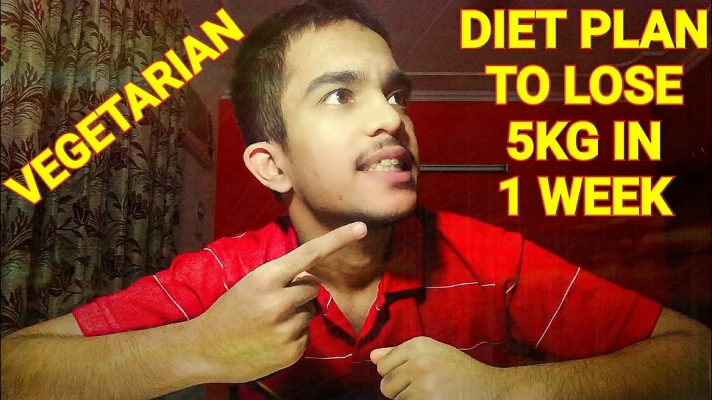 Vegetarian Diet Plan for MEN and WOMEN | Lose weight easily