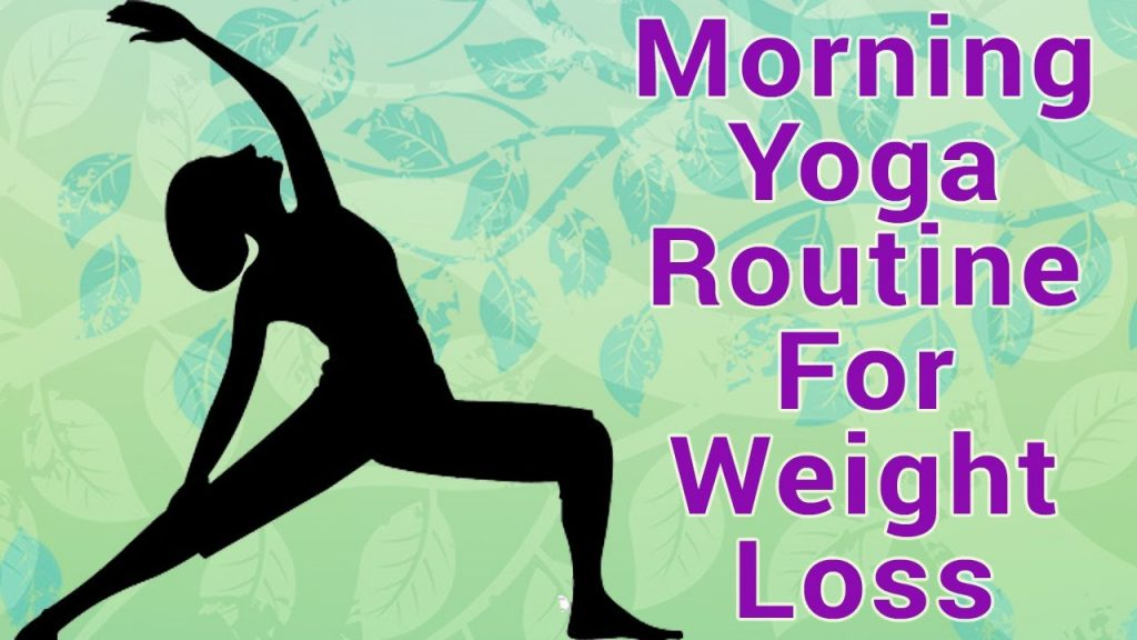 Morning Yoga Asanas For Weight Loss | 5 Quick Morning Yoga Routine For Weight Loss