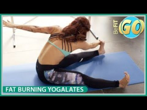 Fat-Burning Yogalates Workout: BeFiT GO- 20 Mins