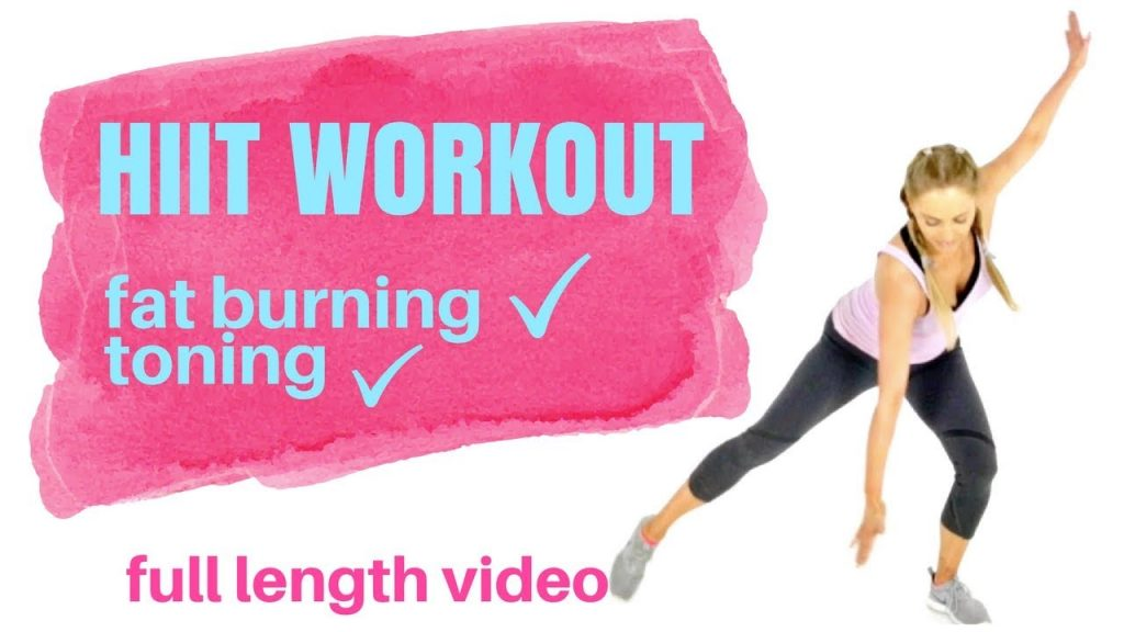 HIIT HOME WORKOUT EXERCISE  FOR WOMEN – Weight Loss Workout -Total Body – No equipment needed s