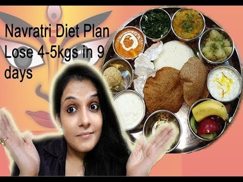 Navratri Special Diet Plan/Weight Loss Diet Plan/Lose 4kg-5kg In 9 Days/FitnessBeautyMantra