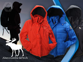 Ver la oferta: CAMPERA ABERCROMBIE & FITCH para hombre. Interior de polar, capucha desmontable y cuello tejido. 3 colores a elección.