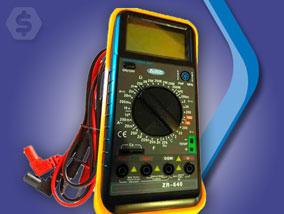 Ver la oferta: TESTER DIGITAL PROFESIONAL Zurich con sensor de temperatura. Para todas las mediciones que necesitás hacer.