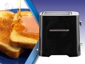 Ver la oferta: TOSTADORA ELÉCTRICA Caliber. Bajo consumo. Para tener un desayuno más rico y saludable.