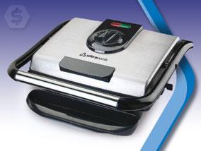 Ver la oferta: PARRILLA ELÉCTRICA Grill Press Ultracomb. Comidas sabrosas y sanas en minutos. Cocina de ambos lados a la vez.