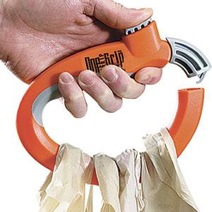 Ver la oferta: MANIJA ERGONÓMICA One Trip Grip. Llevá todas las bolsas cuidando tus manos y las compras.
