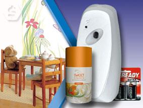 Ver la oferta: DISPENSER AUTOMÁTICO de desodorante de ambientes + 1 Fragancia + 2 Pilas D. Un mes de fragancia con un solo aerosol.