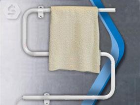 Ver la oferta: TOALLERO ELÉCTRICO Clever. De muy fácil colocación. Tus toallas siempre secas y calentitas.