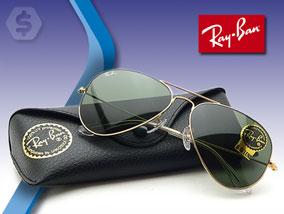 Ver la oferta: RAY-BAN AVIATOR RB3025 Gold Green Classic. No te quedes sin este clásico.