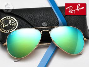 Ver la oferta: RAY-BAN AVIATOR RB3025 Espejados. 3 modelos a elección para estar a tono con la tendencia.