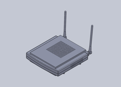Foto do design Modem Wifi