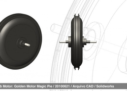 Foto do design eBike Hub Motor - CAD file