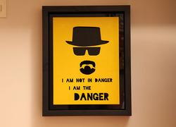 Foto do design Quadro Breaking Bad