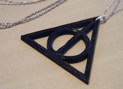 Foto do design Pingente Deathly Hallows - Harry Potter