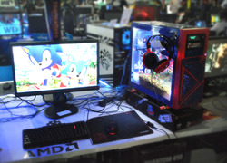 Foto do design Casemod Sonic Generations