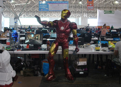 Foto do design Casemod/Animatronic Iron Man