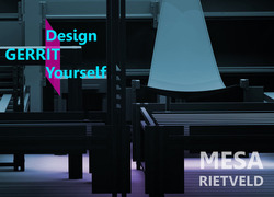 Foto do design MESA RIETVELD