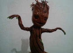 "Foto do design ""I AM GROOT!"" - Action Figure - Guardiões da Galáxia"