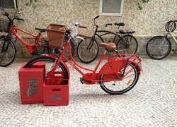 Foto do design Bicicletario engradado