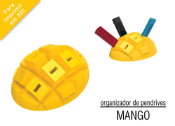 Foto do design Organizador de pendrives - Mango