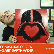 Foto do design Darth Vader String Art (Dia dos Namorados) - Oficina DIY