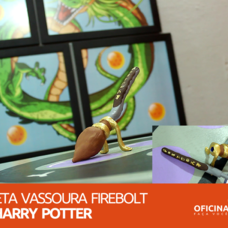 Foto do design Caneta Vassoura Firebolt Harry Potter - Oficina DIY