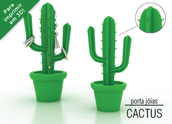 Foto do design Cactus - Porta-Joias