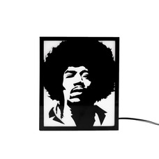 Foto do design Backlight Jimi Hendrix