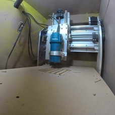 Foto do design Fresadora Router CNC