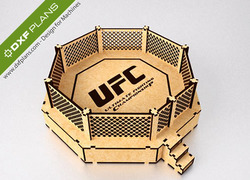 Foto do design UFC Octagon