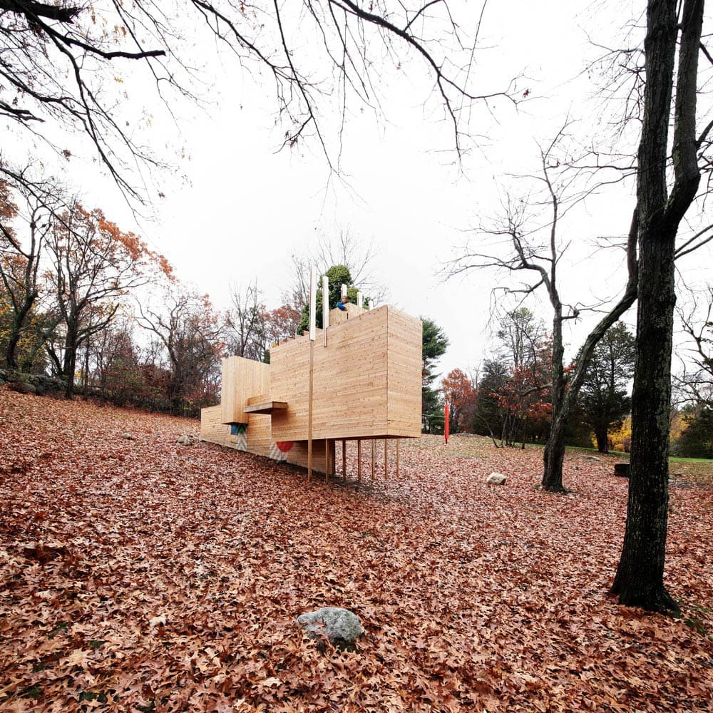 Five Fields Play Structure by Matter Design & FR|SCH Projects