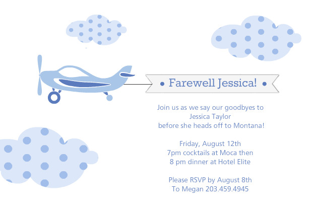 Farewell Party Invite
