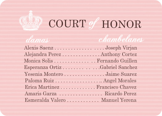 Court Of Honor Invitation as amazing invitation sample