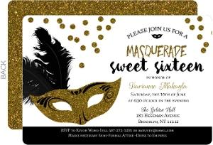 Cheap Sweet 16 Birthday Invitations | Invite Shop