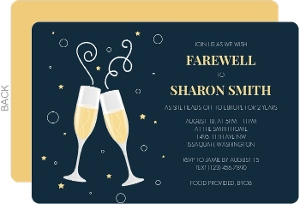 Moving On Farewell Party Invitation