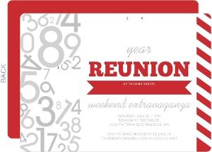 Cheap Reunion Invitations Invite Shop