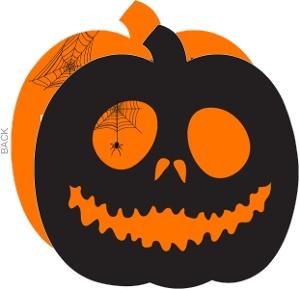 jack olantern halloween card - Photo Halloween Cards