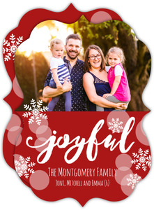 Joyful Photo Christmas Card