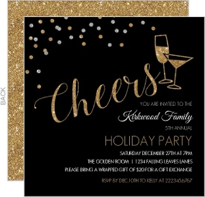 Cheap Holiday Invitations - Invite Shop