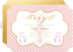 Pink Bridal Shower Invitations was amazing invitations ideas